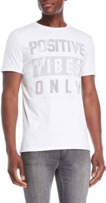 Sean John Positive Vibes Only Studded Tee