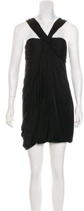 Yigal Azrouel Ruched Mini Dress