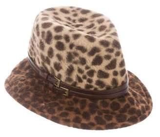 Eugenia Kim Ponyhair Printed Hat