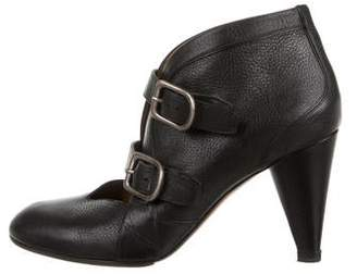 Sonia Rykiel Leather Ankle Booties