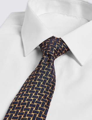 Marks and Spencer Pure Silk Lattice Tie