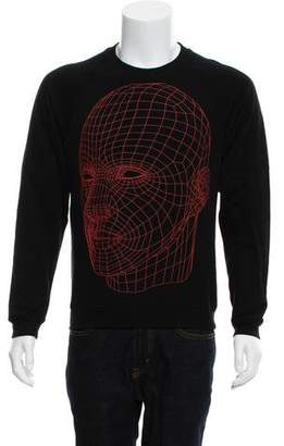 Christopher Kane Graphic Print Crew Neck Sweatshirt