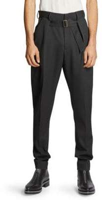 Givenchy Belted Paperbag Waist Pants
