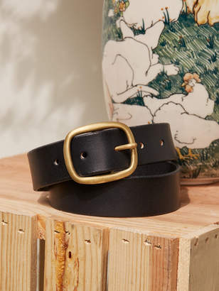 Reformation Maximum Henry Wide Oval Brass Buckle Belt