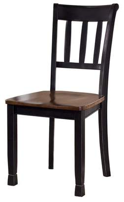 Signature Design by Ashley 2pc Owingsville Dining Room Side Chair Brown