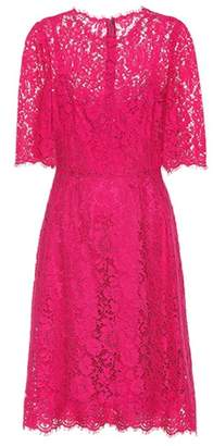 Dolce & Gabbana Woman Crystal-embellished Corded Lace Gown Pink Size 48 Dolce & Gabbana Cheap Limited Edition Sale Official Order bIYdaShr2