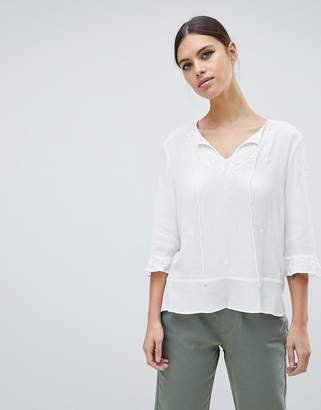 French Connection Kathryn Crinkle Blouse