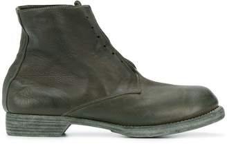 Guidi ankle length military boots