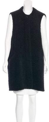 Isabel Marant Knee-Length Wool-Blend Vest