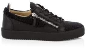 Giuseppe Zanotti Rubber Stingray Sneakers