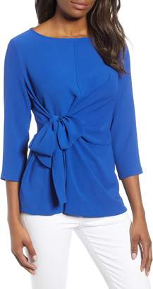 Gibson x International Women's Day Hoang-Kim Tie Front Crepe Top