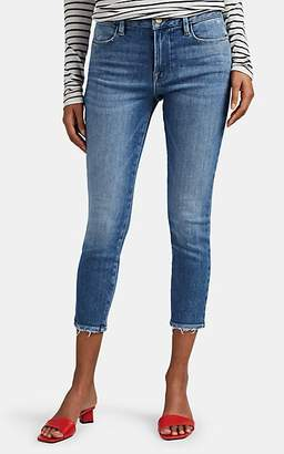 Frame Women's Le High Skinny Crop Jeans - Blue
