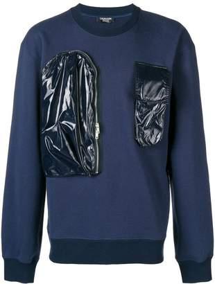 Calvin Klein contrast patch sweatshirt