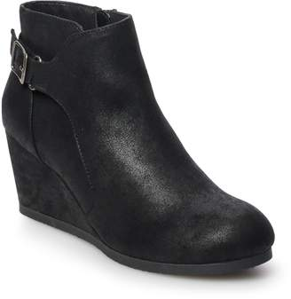 So SO Lettuce Women's Wedge Ankle Boots