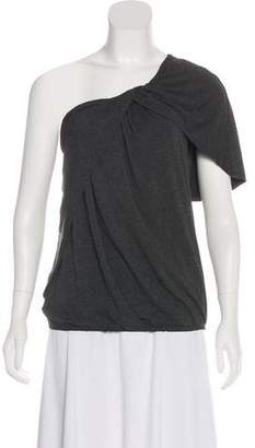 Robert Rodriguez One-Shoulder Knit Top