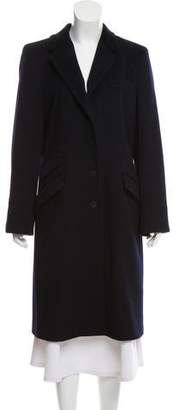 Les Copains Wool Long Coat