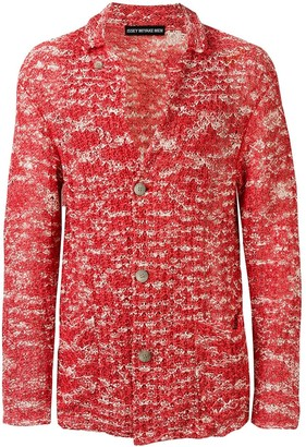 Issey Miyake Pre-Owned paper knitted cardigan
