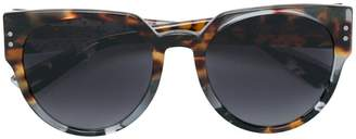 Christian Dior cat-eye tinted sunglasses