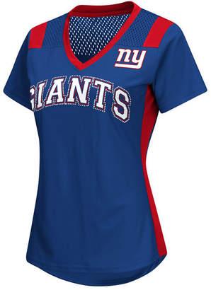 G-iii Sports Women New York Giants Wildcard Jersey T-Shirt