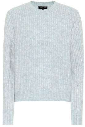 Rag & Bone Jonie alpaca and wool blend sweater