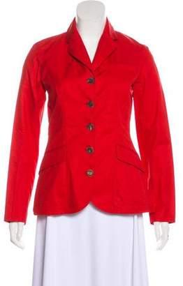 Hermes Vintage Button-Up Jacket