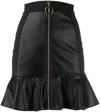 Elisabetta Franchi A-line ruffled skirt