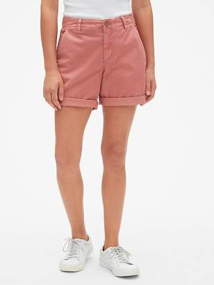 """Gap 5"""" Girlfriend Chino Shorts"""