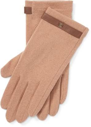 Ralph Lauren Wool-Blend Tech Gloves