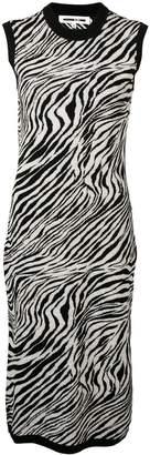 McQ zebra tube dress
