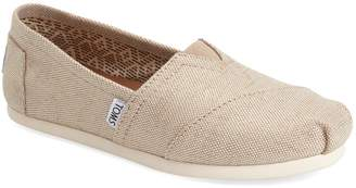 Toms 'Classic - Metallic Burlap' Slip-On