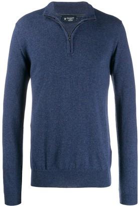 Hackett front zipped jumper
