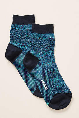 Missoni Textured Crew Socks