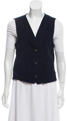 Frame Button-Up Vest