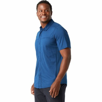 Smartwool Merino Sport 150 Short-Sleeve Button-Down Shirt - Men's