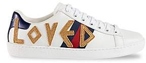 Gucci Women's New Ace Embroidered Sneakers