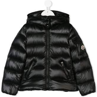 ... Moncler logo padded jacket
