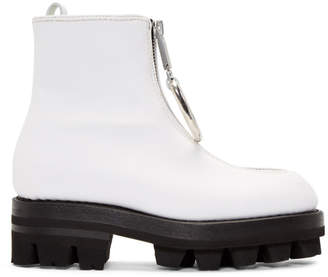 Alyx White D-Ring Tank Boots
