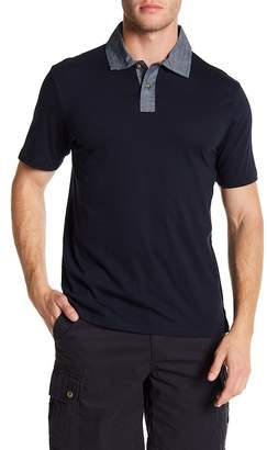 Joe Fresh Contrast Collar Polo Shirt