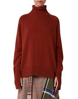 Lee Mathews Cashmere Turtleneck Sweater