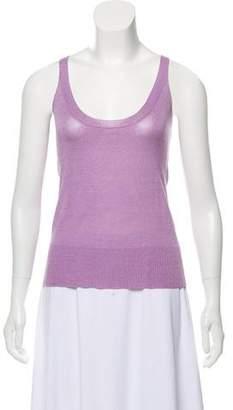Valentino Knit Sleeveless Top