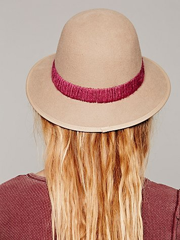 Free People San Diego Hat Co. Stitch Banded Hat