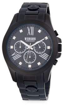 Versace Stainless Steel Chronograph Bracelet Watch