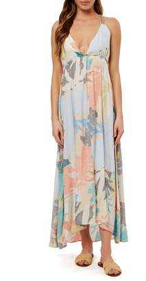 O'Neill Kaitlyn Floral Print Maxi Dress