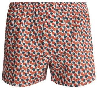 Sunspel - Liberty Floral Print Cotton Boxer Shorts - Mens - Multi