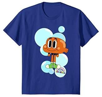 CN Gumball Darwin Bubbles Graphic T-Shirt