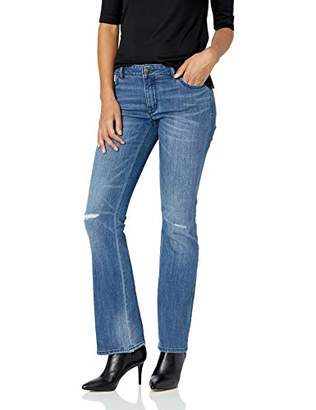 Denim Crush Women's Mixed Floral Stud Bootcut Jean (