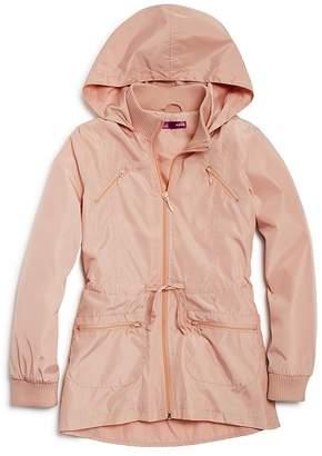 AQUA Girls' Tiered Rain Jacket, Big Kid - 100% Exclusive $70 thestylecure.com