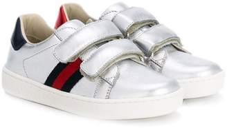 Gucci Kids GG Web sneakers