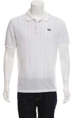 Y-3 Striped Polo Shirt