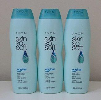 Lot of 3 Avon Skin So Soft Original Body Lotion 11.8 oz. +Jojoba $25.95 thestylecure.com